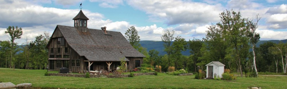 A Blog about Old Barns ~ from Green Mountain Timber Frames