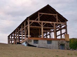 Timber frame homes and historic properties