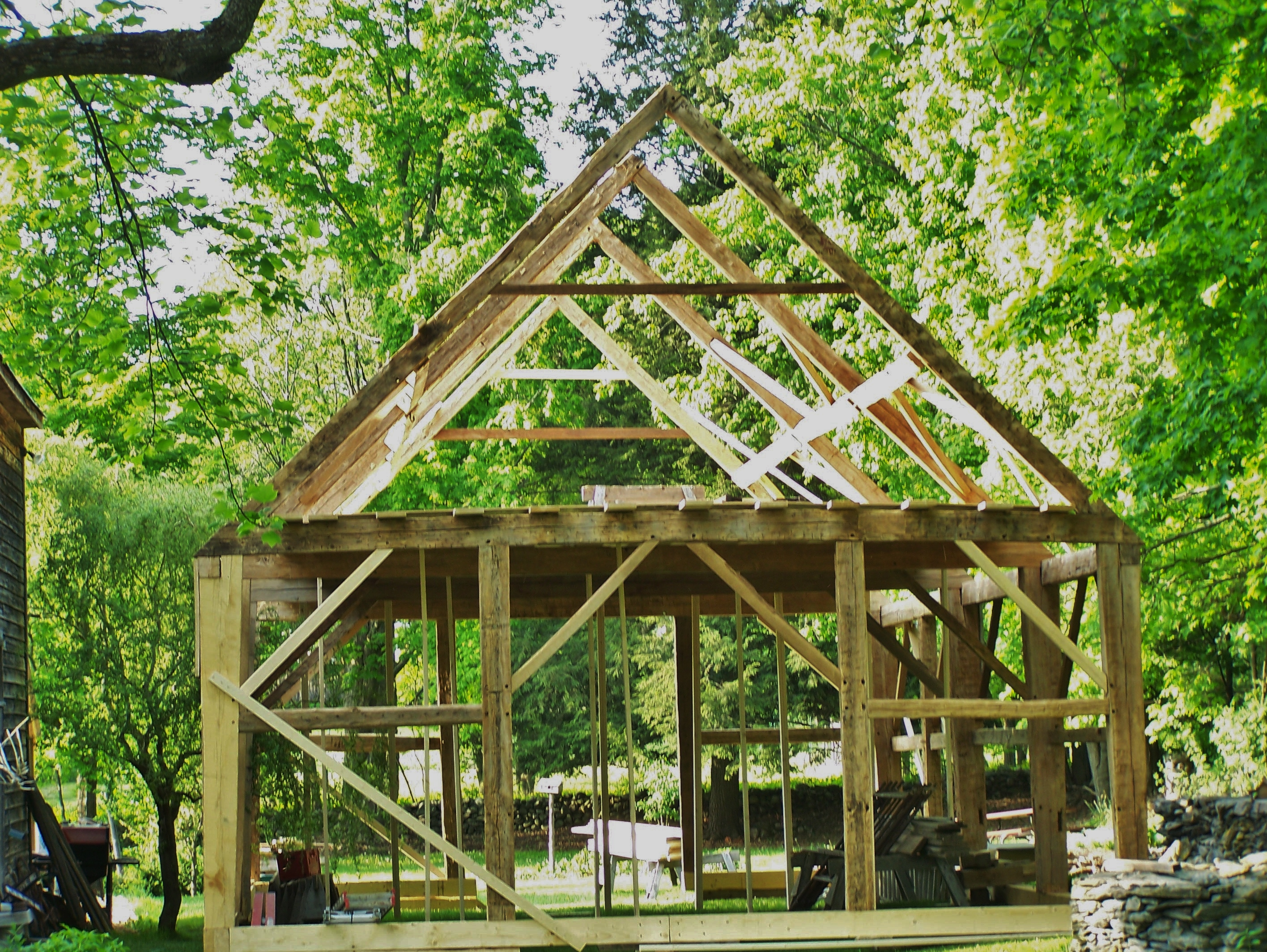 Gunstock Timber Frame Green Mountain Timber Frames