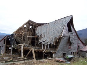 vermont timber frame - gunstock
