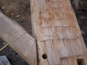 Gunstock Timber Frame from 1500s