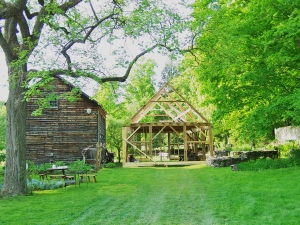 Restored Timber Frame in Vermont