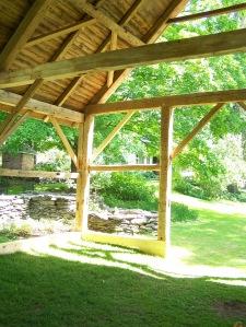 Inside the Restored Timber Frame