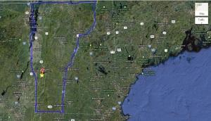 Ira Vermont Map