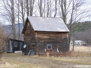 Timber Frame Old Barn Corn Crib