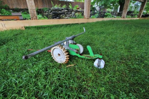 Old fashioned sprinkler in VT