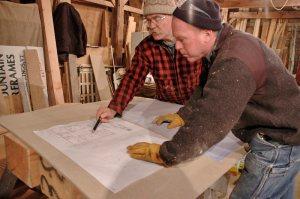 Plans for the timber frame home - katrina