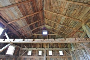 Post and Beam Barn Restoration