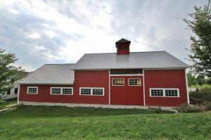 Bennington Vermont Restored Timber Frame