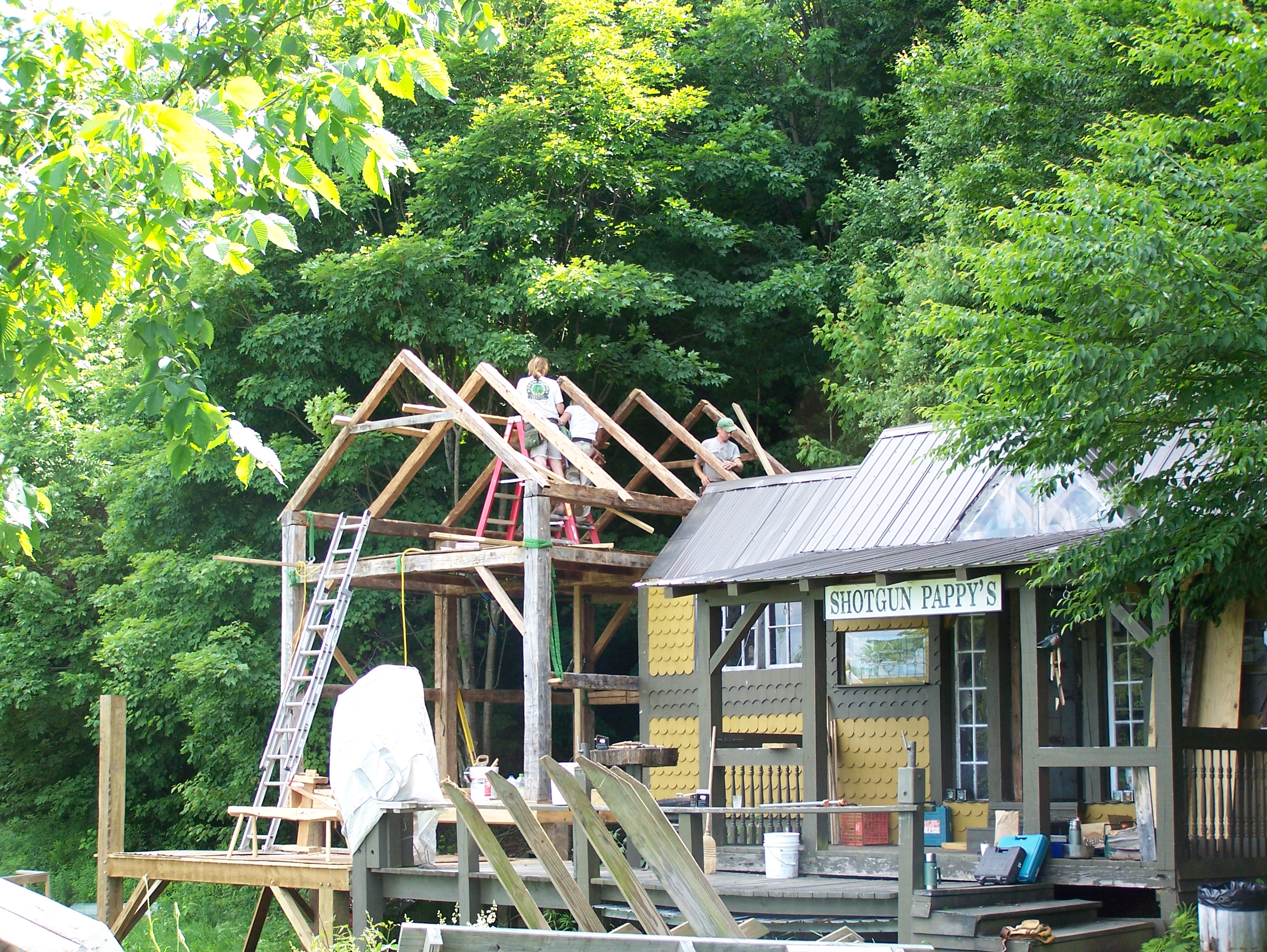 The Ultimate Corn Crib Green Mountain Timber Frames