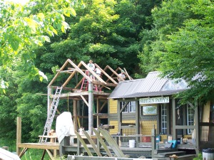 Building the Timberframe Old Barn in Vermont