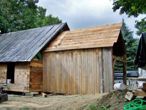 Restored Timberframe in Vermont  makes  a Custom Barn Home