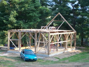 Vermont Post and Beam Homes