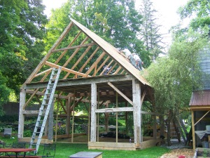 Vermont Timber Frames in Middletown Springs