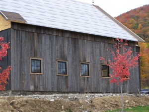 Beautiful New England Barn Frame
