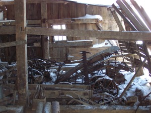 Findings in historic old barn