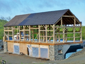 Timber Frame Restoration in new england