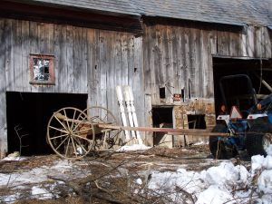 Cultivator from Old Post and Beam Barn
