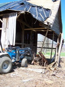 Controlled Collapse of Timber Frame Barn
