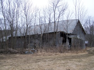 Timber Frame Barn in Ira VT