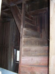 Restored Wooden Stairwell