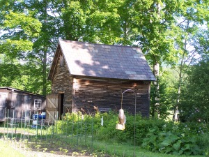 Vermont Post and beam corn Crib