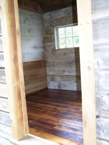 Vintage Timber frame with vintage flooring