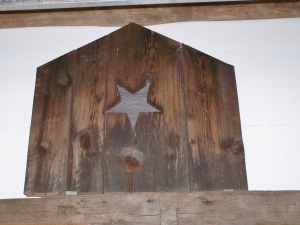 5_saving star emblem for barn interior