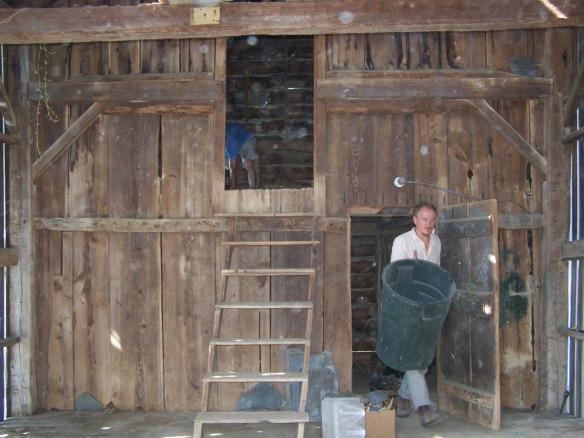 Multi level timber frame