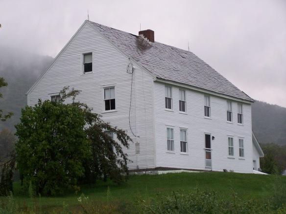 Before barn restoration_Vermont barn home