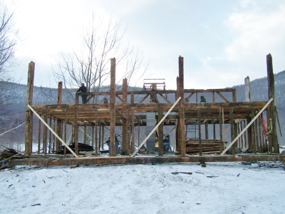 Dismantling timber frame for restoration and preservation