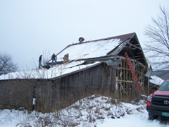 Historic Barn removal photo