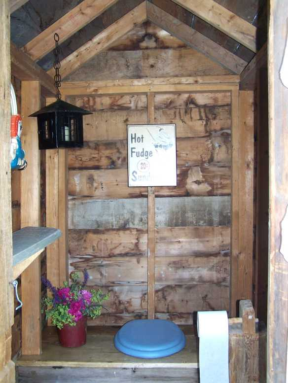 Vermont timber frame outhouse - Copy
