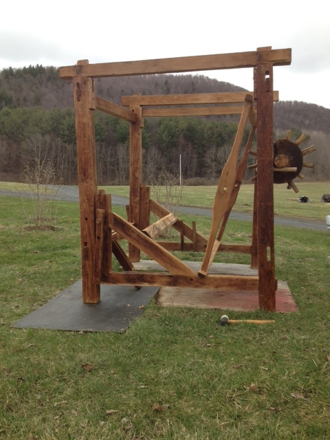18th Century Loom_Green Mountain Timber Frames_Vermont