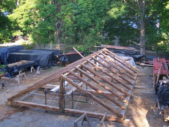 Antique barn Restoration_Green Mountain Timber Frames_Vermont_4 (800x601)