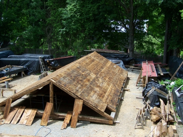 Antique barn Restoration_Green Mountain Timber Frames_Vermont