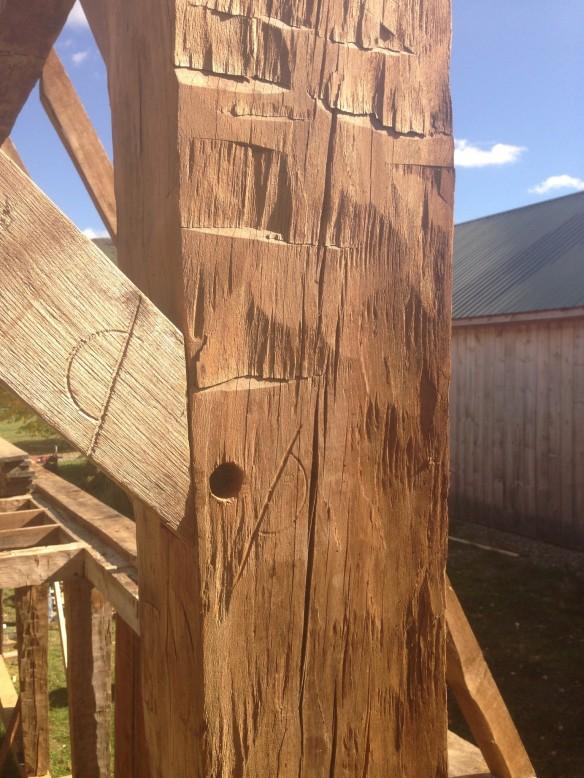 Labeling System_Restored historic gambrel home_Vermont_Green Mountain Timber Frame_Luke Larson Farm