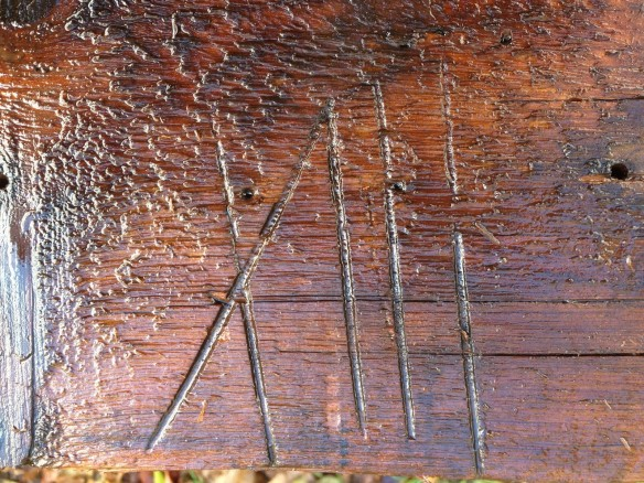 Roman Numeral Labeling in Timber Framing_Vermont_Green Mountain Timber Frames_4