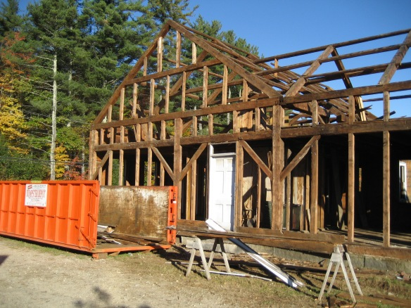 Hodsdon frame opened up green mountain timber frames