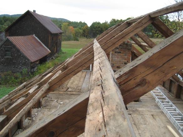 Hodsdon rafter system vintage house