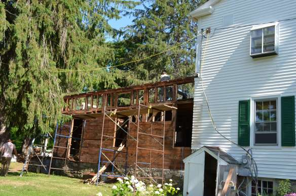Post and beam addition_Green Mountain Timber Frames