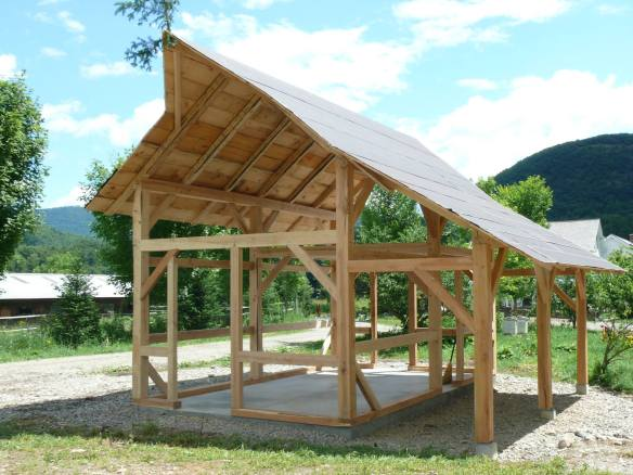 timber frame sugar house green mountain timber frames