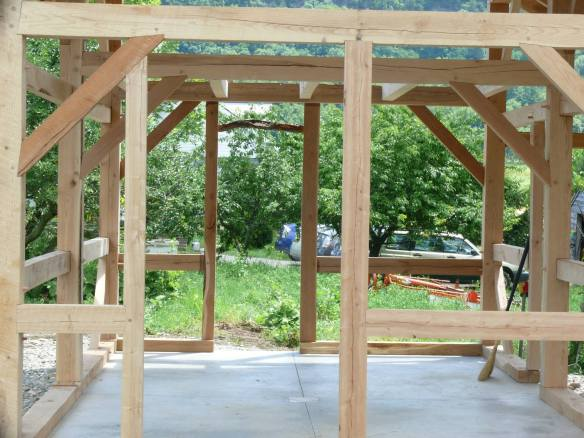 Timber maple sugar house green mountain timber frames