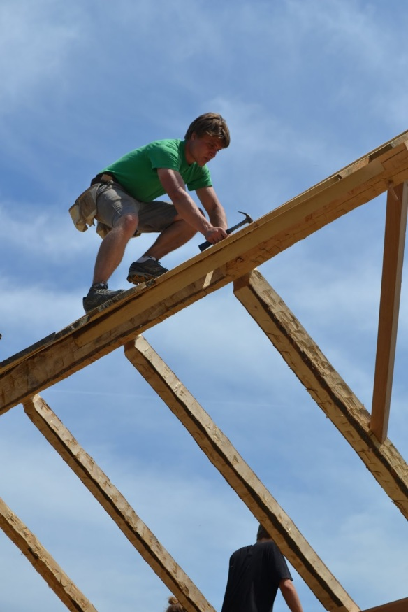 timber frame rafters green mountain timber frames