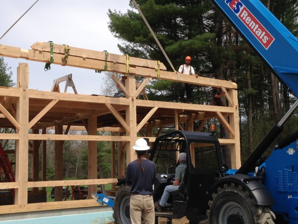 green mountain timber frames new construction