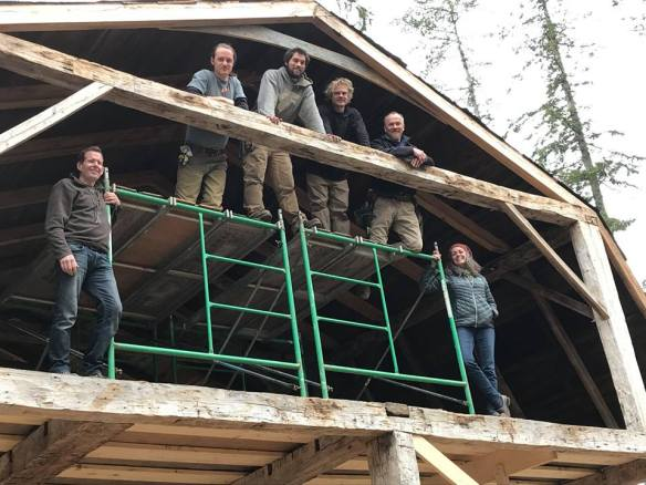 Green Mountain Timber Frames crew