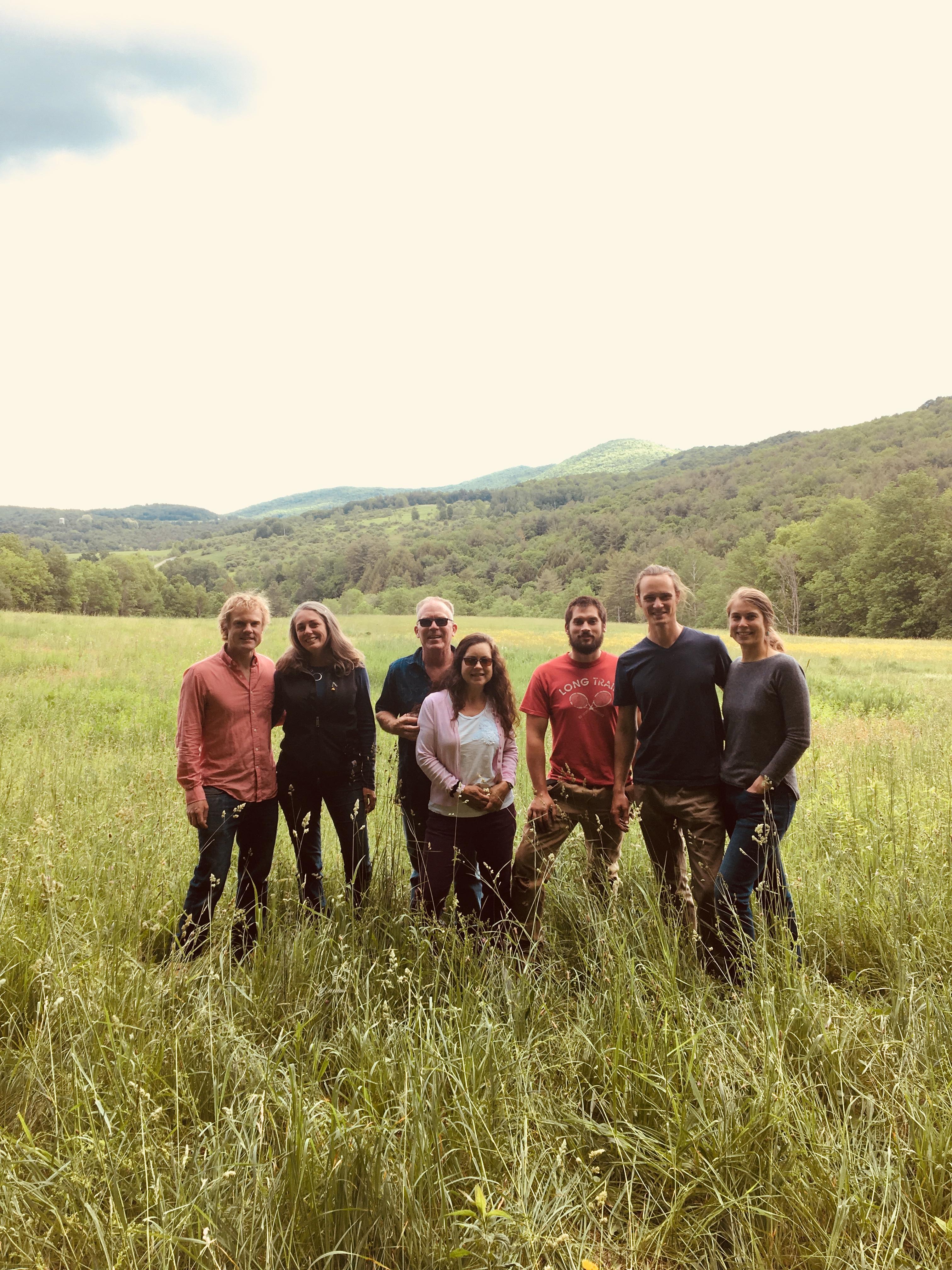 Green Mountain Timber frames staff