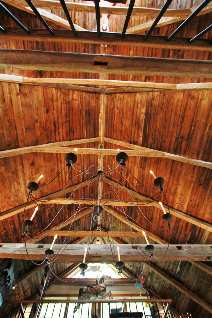 Restored Timber Frame Ceiling