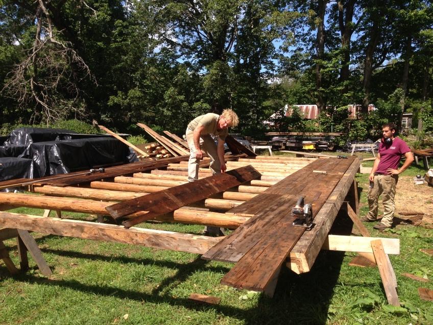 Luke Larson | Green Mountain Timber Frames