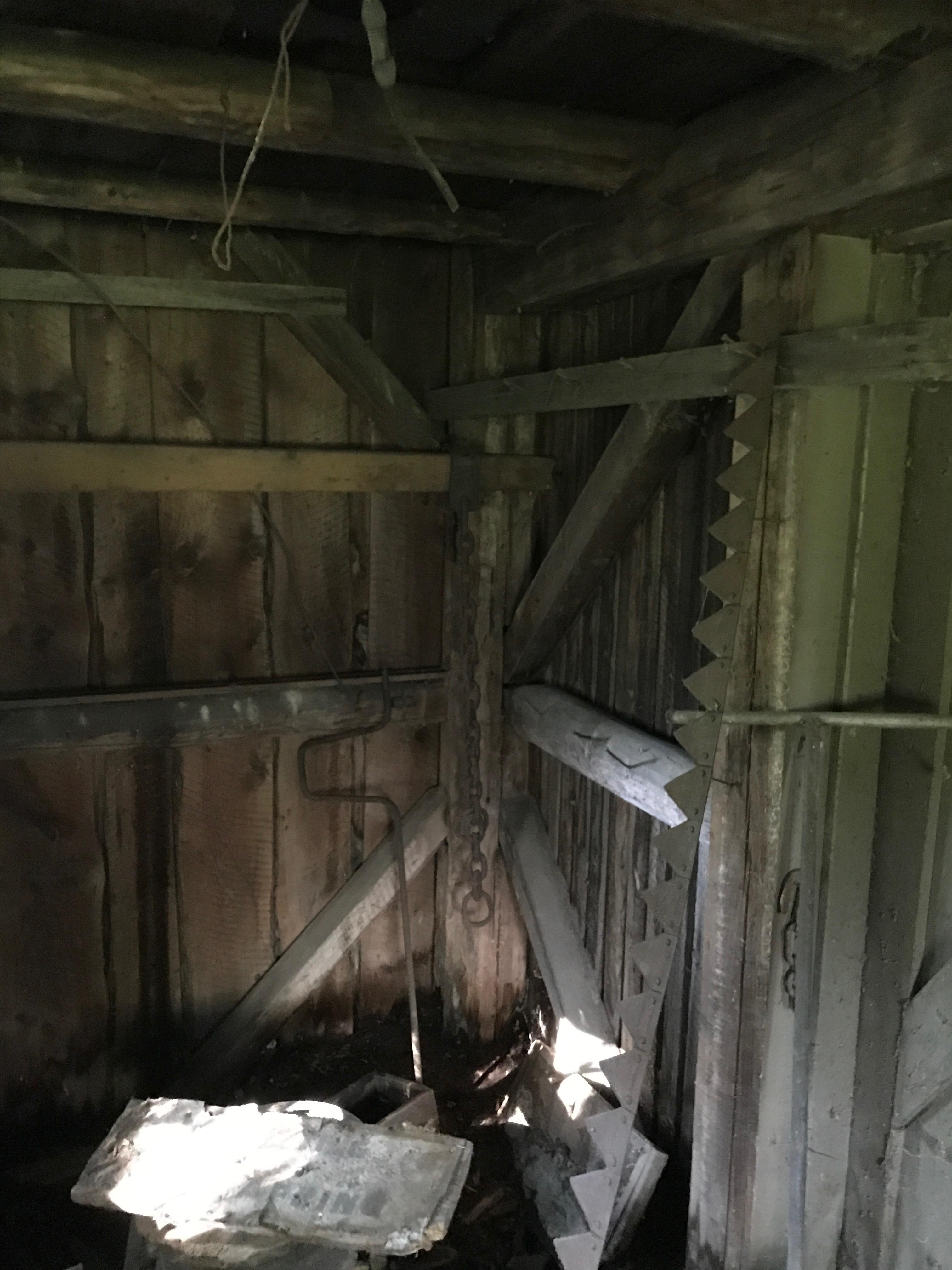 corn crib interior green mountain timber frames